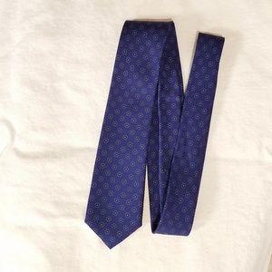J.Crew Silk Tie in Micro Medallion